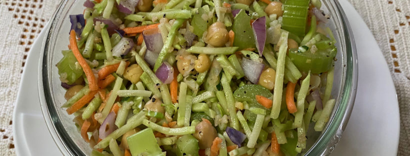 photo of chickpea salad